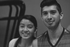 Ashley and her mentor, Alfonso.